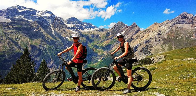 rutas alpinas BTT zona zero